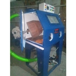 Cabinet Sand Blasting Machine