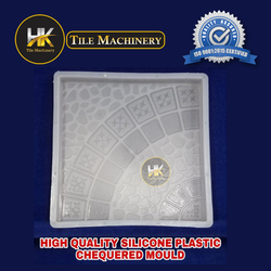 High quality silicone plastic chequerd mould