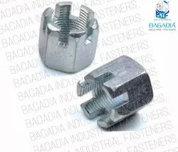 BIF Hex & Round Slotted Nut, Size: M6 To M100