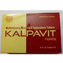 Kalpavit Multivitamins Minerals And Antioxidants Tablets