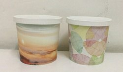 900 Ml Paper Container with paper Lid