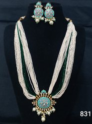 Traditional Pearl  Mala Set
