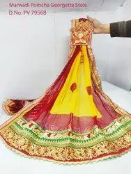 Marwadi Piliya Dupatta