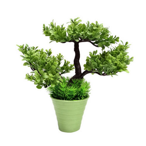 Plastic Bonsai Bodhi Tree With Ceramic Vase Rs 275 Piece Id