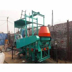 Uniworld 10 Hp Four Pole Lift Concrete Mixer, For Construction, Drum Capacity: 500 L