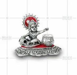 Silver Plated Balkrishna Matki