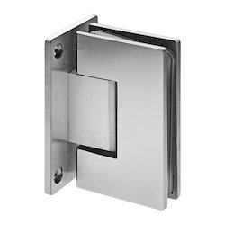 Wall To Glass Hinge (Zinc)