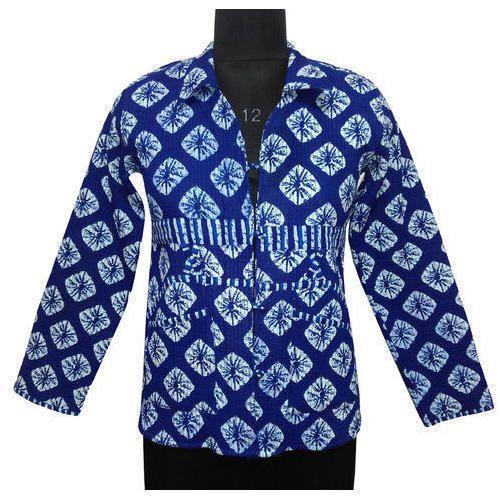 09f3919bee Medium Casual Jackets Kantha Reversible Cotton Jackets, Rs 650 ...