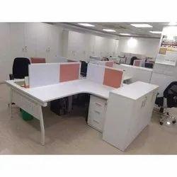 Plastic and Aluminium Modular Office Workstation