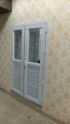Casement Clear Glass Upvc franch door, Og, Interior