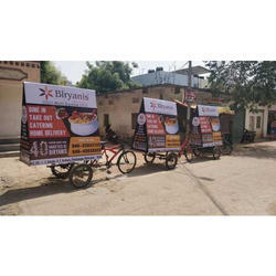 Tricycle Food Advertising Service