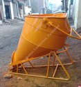 Cow Mouth Center Discharge Concrete Buckets