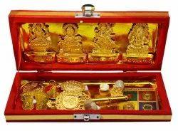 Golden Metal Shiv Mart Sri Dhan Laxmi -Kuber Bhandari Yantra, Packaging Type: Box
