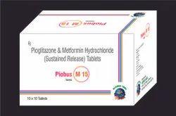 Pioglitazone Metformin Hydrochloride Sustained Release Tablet, Globus Labs