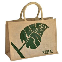 Jute Printed Shopping Bag
