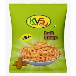 KVS Namkeen Salty Fried Imli Ring, Packaging Size: 18 gram, Packaging Type: Packet