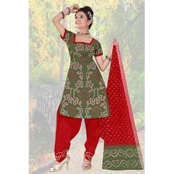 Designer Fancy Bandhani Print Suit
