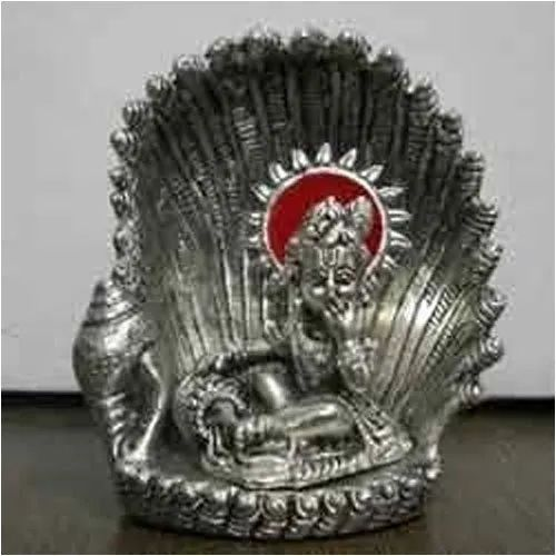 White Metal Krishna Idol For Home Decoration Gifting Rs 0 01
