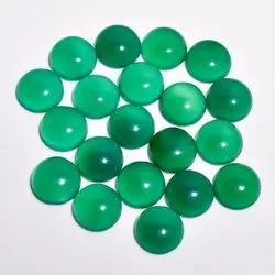 Green Chalcedony Cabochon