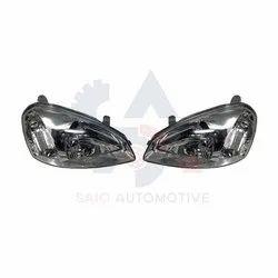 Headlamp Headlight For TATA INDIGO Replacement Genuine / Aftermarket Auto Spare Part