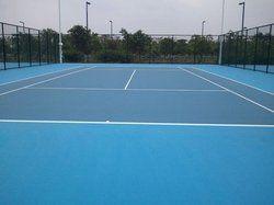 Badminton Court Flooring for outdoor