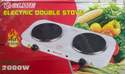 2000 W Electric Hot Plate Double Cooking Stove
