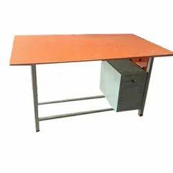 Wooden (Table Top ) Rectangular School Reception Table