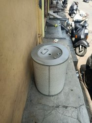 Dust Collector Drum Filter