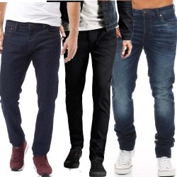 Multicolor Casual Wear Denim Jeans, Waist Size: 28 to 36, Size: 28 To 40