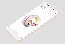 White Redmi Note 5 Mobile Phone