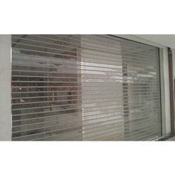 Transparent Acrylic Rolling Shutter
