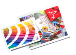 Colored Offset Printing Service