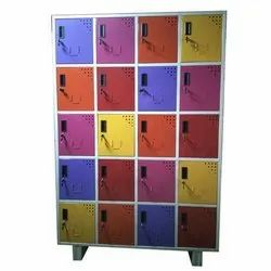 20 DOOR LOCKER POWDER COATED