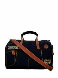Yelloe Blue duffle bag with big compartment   military desig ffb49fd2d3261
