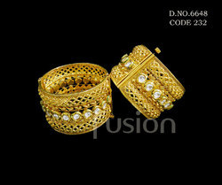 Antique Wedding Kundan Bangles