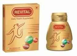 Vitamin Capsule Revital Capsules, Non Prescription, Packaging Type: Bottle