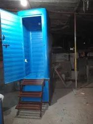 FRP Toilet Cabin with attach Septic Tank