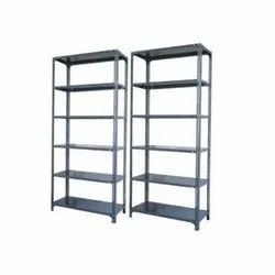 6 Shelves Slotted Angle Rack
