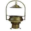 Mughal Mahal Chafing Dish Brass