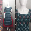 Womens Double Layer Rayon Kurti