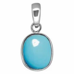 Firoza Silver Pendent Gemstone