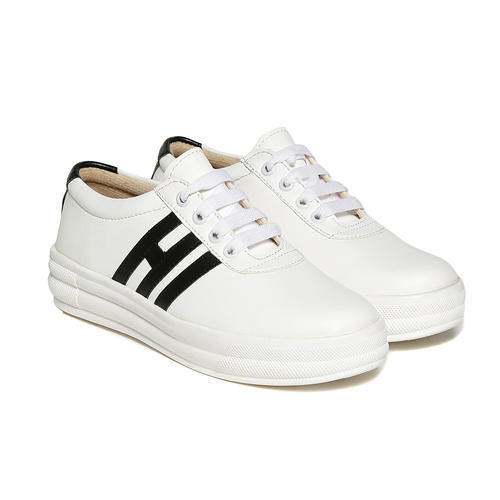 160a52c6e Synthetic White Casual Sneaker Shoes, Rs 250 /pair, Trendy Look | ID ...