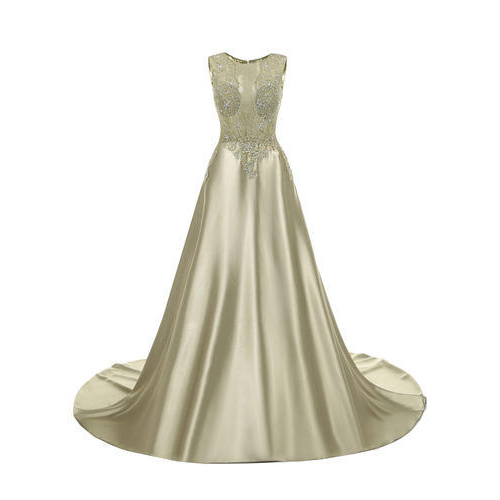 bd1a329a1db Satin Long Gown