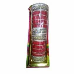 Plastic Wedding Ladies Dulahan Chuda Set, Packaging Type: Box