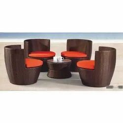 Rattan Patio Sofa Set