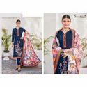 Plain Gift Designer Printed Cotton Dress Material