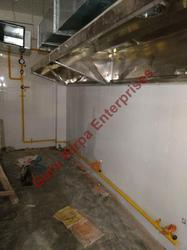 Commercial Kitchen Internal Pipeline System