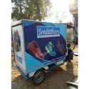 E Rickshaw Branding
