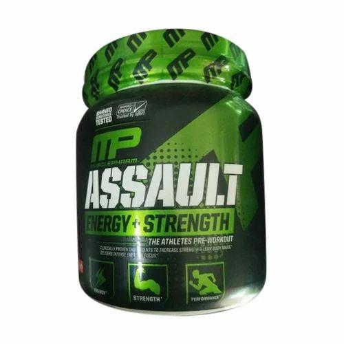 MP Muscle Building Musclepharm Assault Pre Workout, 300g ,Powder ...