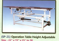 Operation Table Height Adjustable